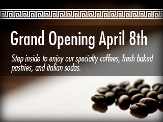 Grand Opening April 8th