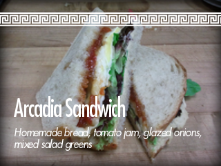 Arcadia Sandwiches!